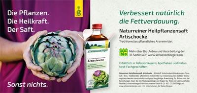 Schoenenberger Naturreine Heilpflanzensäfte
